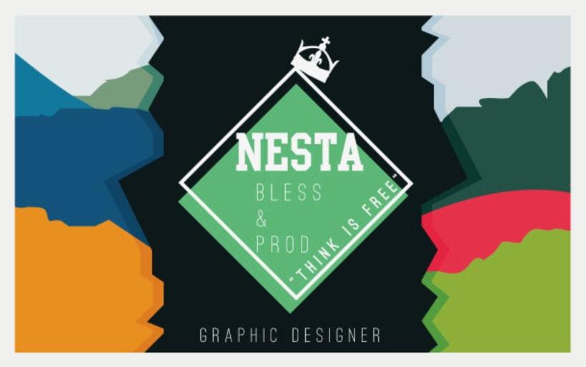 Personal Card Nesta Brand 1
