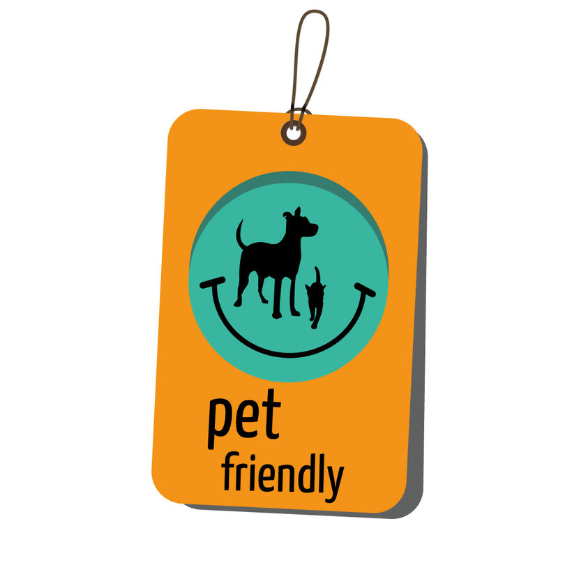 Pet-Friendly logo and label 0