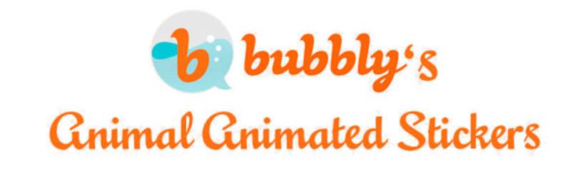 Stickers animados para Bubbly app 0