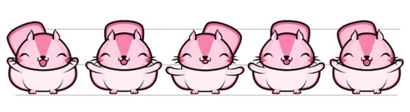 Stickers animados para Bubbly app 7