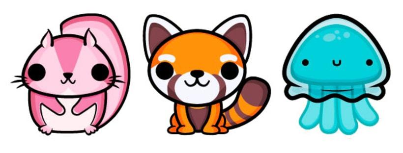 Stickers animados para Bubbly app 1