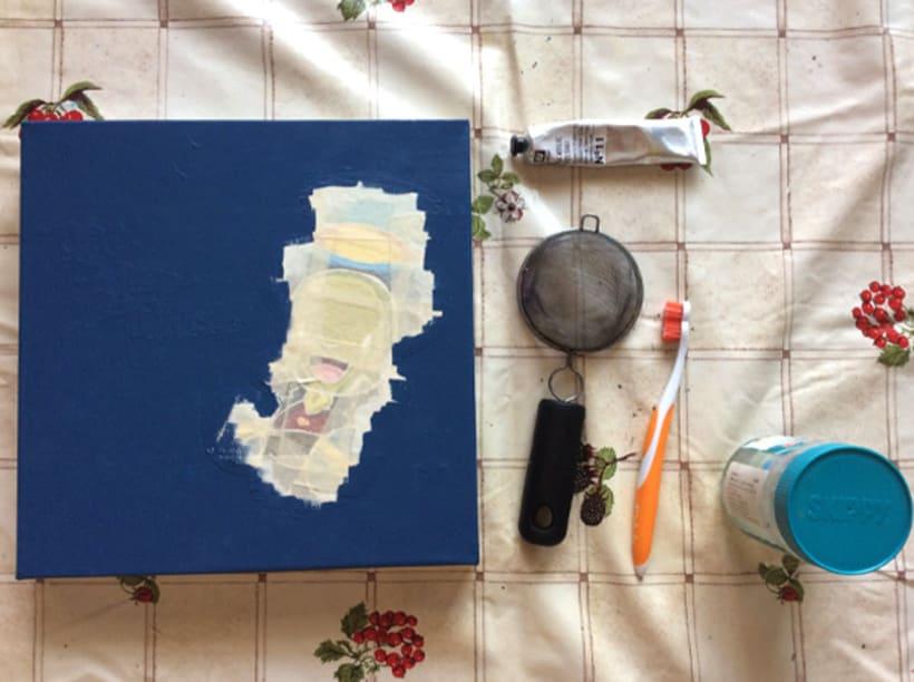 """Canvas """"Dame un silbidito"""" para la exposición colectiva """"La verdad sobre Pinocho"""" 9"""