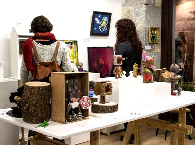 """Canvas """"Dame un silbidito"""" para la exposición colectiva """"La verdad sobre Pinocho"""" 14"""