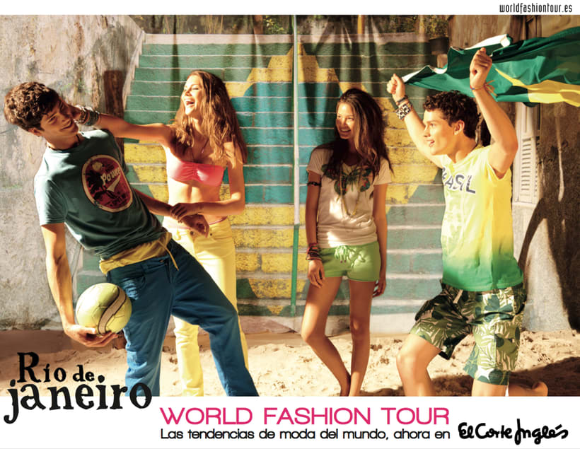 "Editorial para El Corte Inglés ""World Fashion Tour"" 2 3"