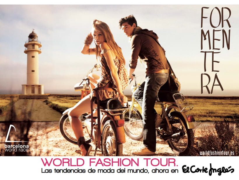 "Editorial para El Corte Inglés ""World Fashion Tour"" 2 2"
