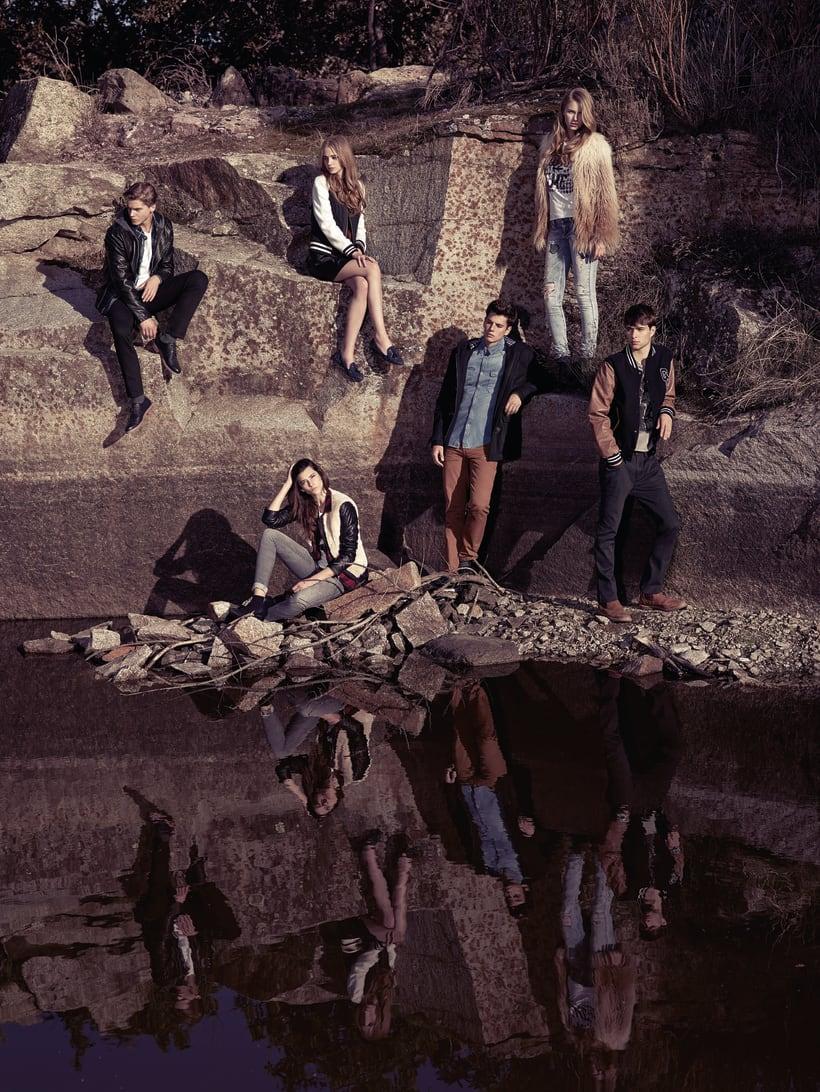 Fotografía y gráfica publicitaria de moda para la marca Green Coast 3