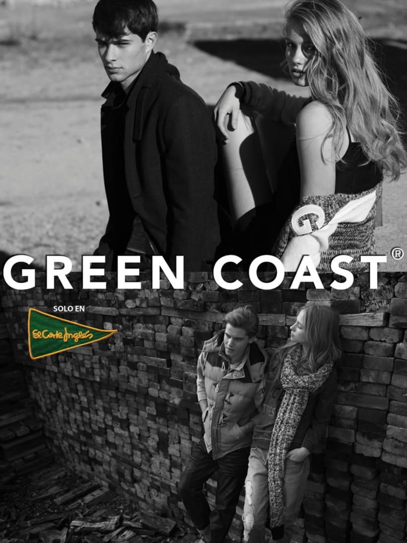 Fotografía y gráfica publicitaria de moda para la marca Green Coast 2