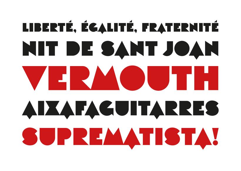 Eutopia, una tipografía geométrica gratuita 1