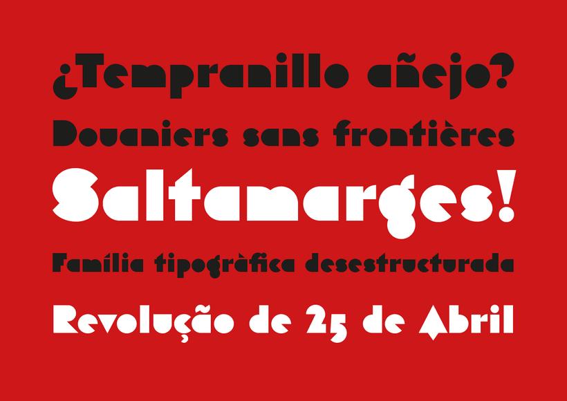 Eutopia, una tipografía geométrica gratuita 2