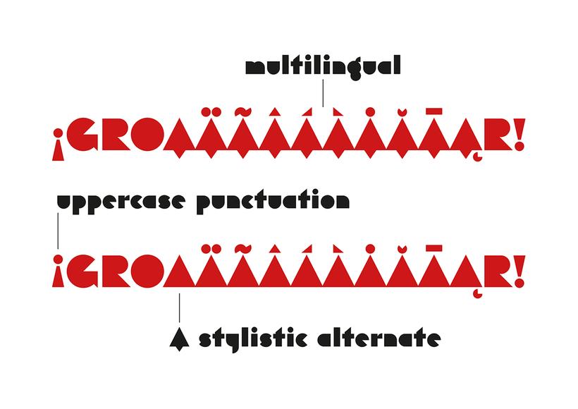 Eutopia, una tipografía geométrica gratuita 3