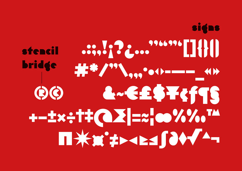 Eutopia, una tipografía geométrica gratuita 6