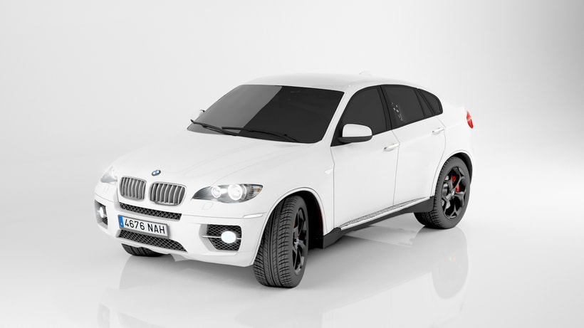 Bmw X6 My first 3d car. 1