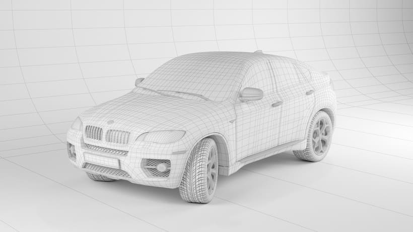 Bmw X6 My first 3d car. 2