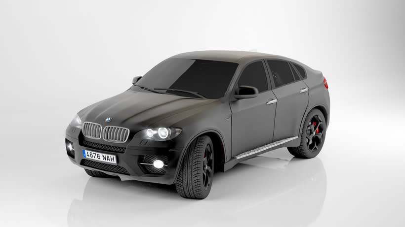 Bmw X6 My first 3d car. 0