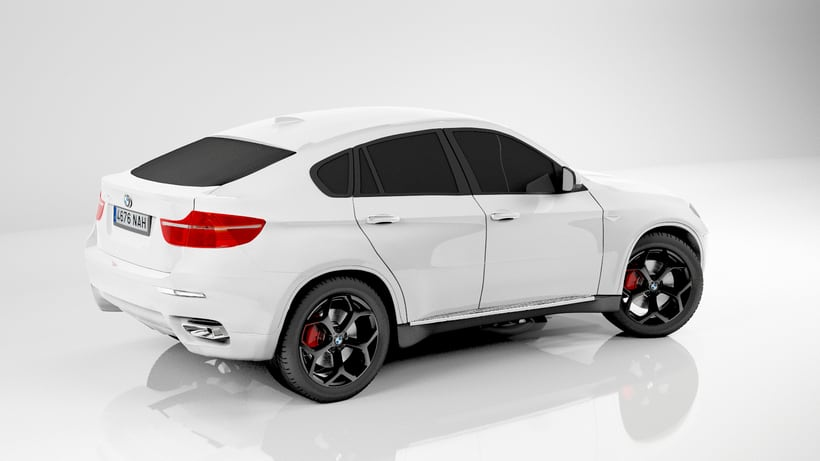 Bmw X6 My first 3d car. 3