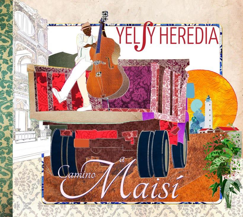 Camino a Maisí / Ilustraciones para disco de Yelsy Heredia 0