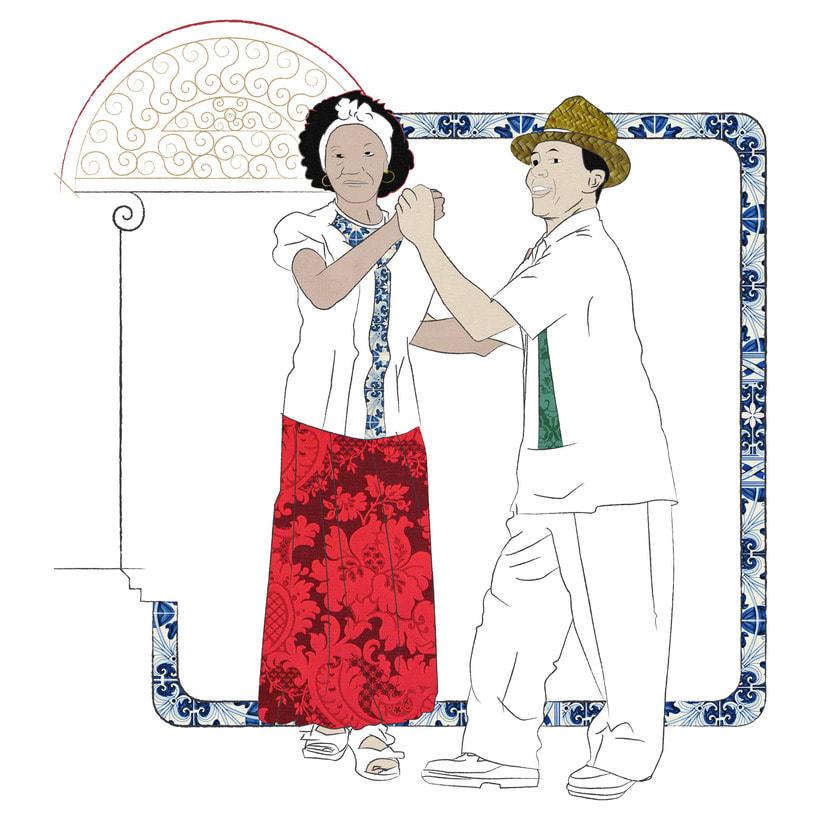 Camino a Maisí / Ilustraciones para disco de Yelsy Heredia 6