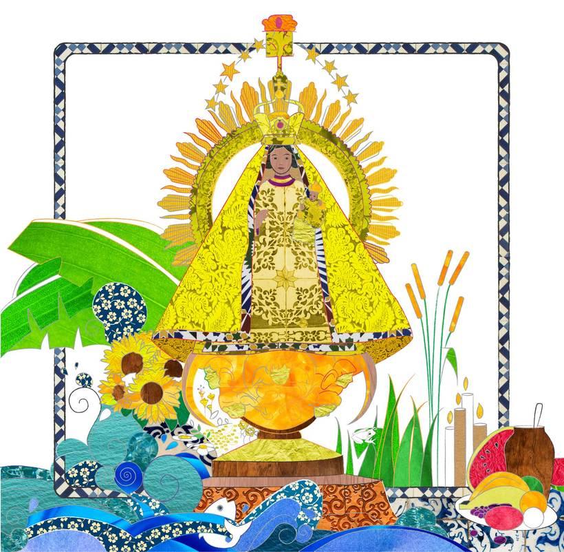 Camino a Maisí / Ilustraciones para disco de Yelsy Heredia 4