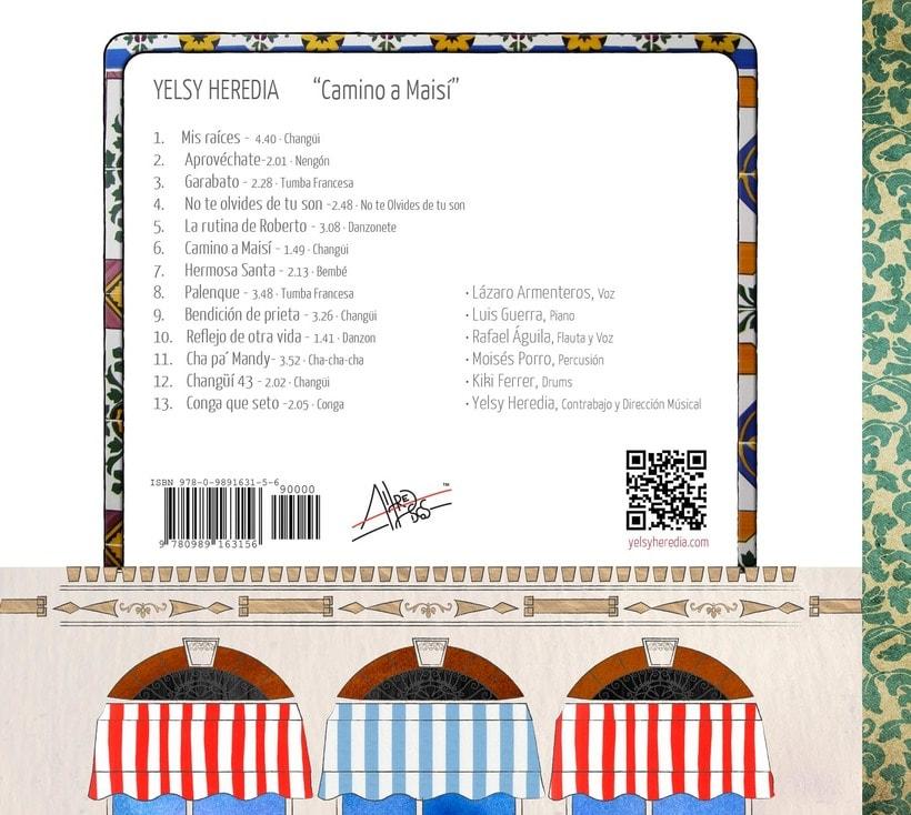 Camino a Maisí / Ilustraciones para disco de Yelsy Heredia 11