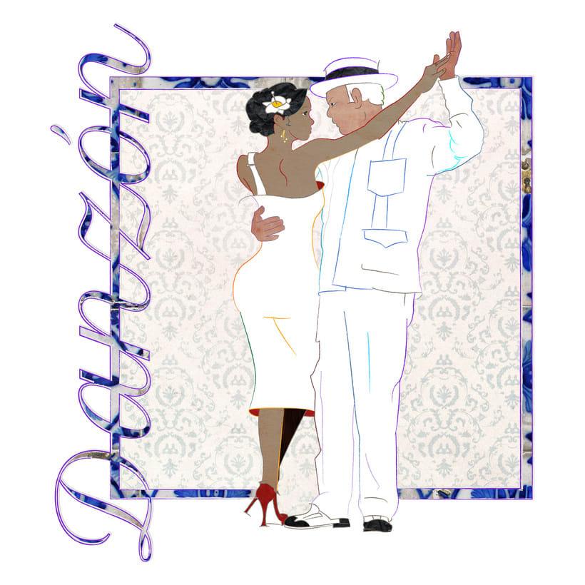 Camino a Maisí / Ilustraciones para disco de Yelsy Heredia 8