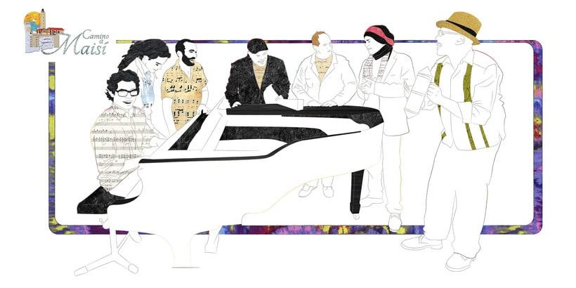 Camino a Maisí / Ilustraciones para disco de Yelsy Heredia 9