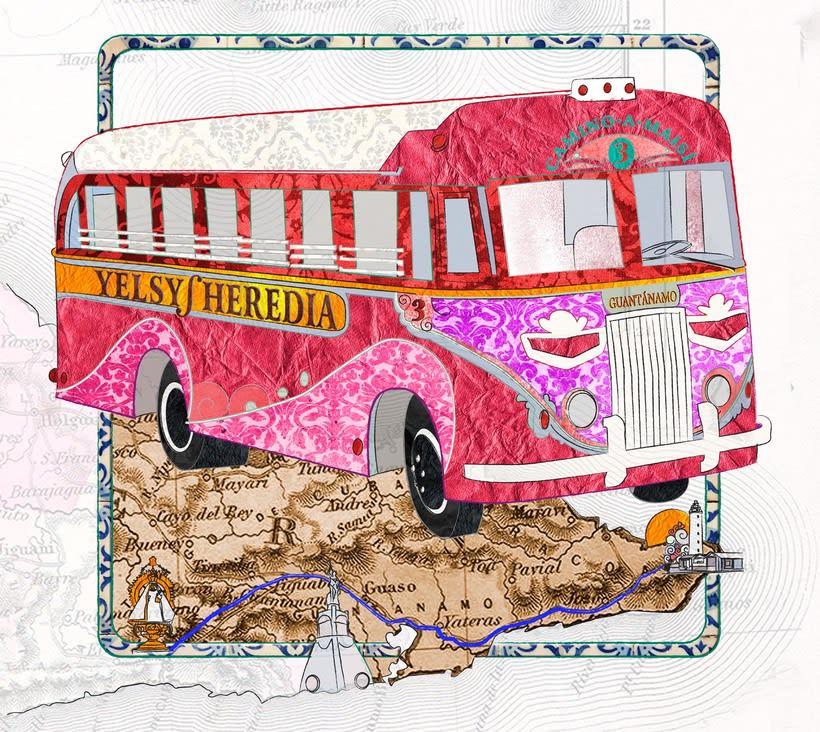 Camino a Maisí / Ilustraciones para disco de Yelsy Heredia 1