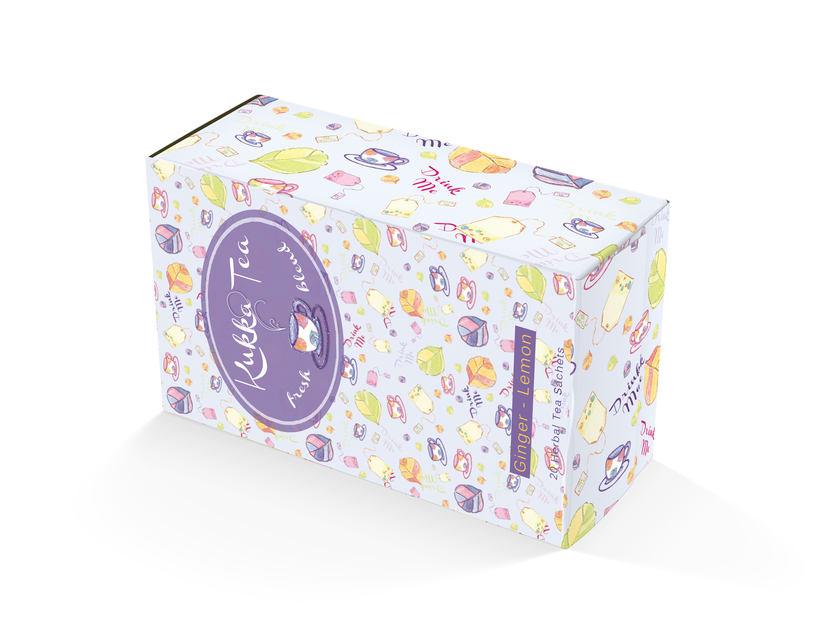 """Proyecto Packaging """"KUKKA TEA"""" - Mi primer estampado... El primero de muchos :) 6"""