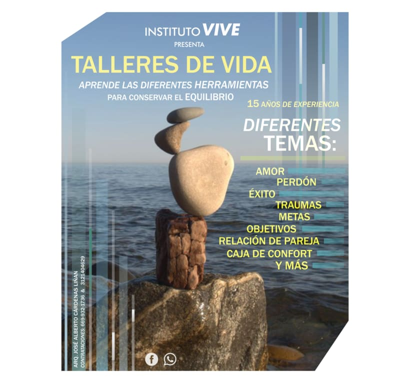 Flyers Instituto Vive 1
