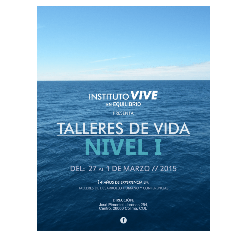 Flyers Instituto Vive 2