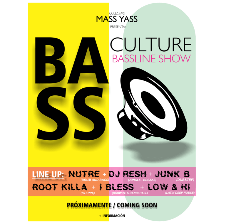 BASS CULTURE Gigs 1