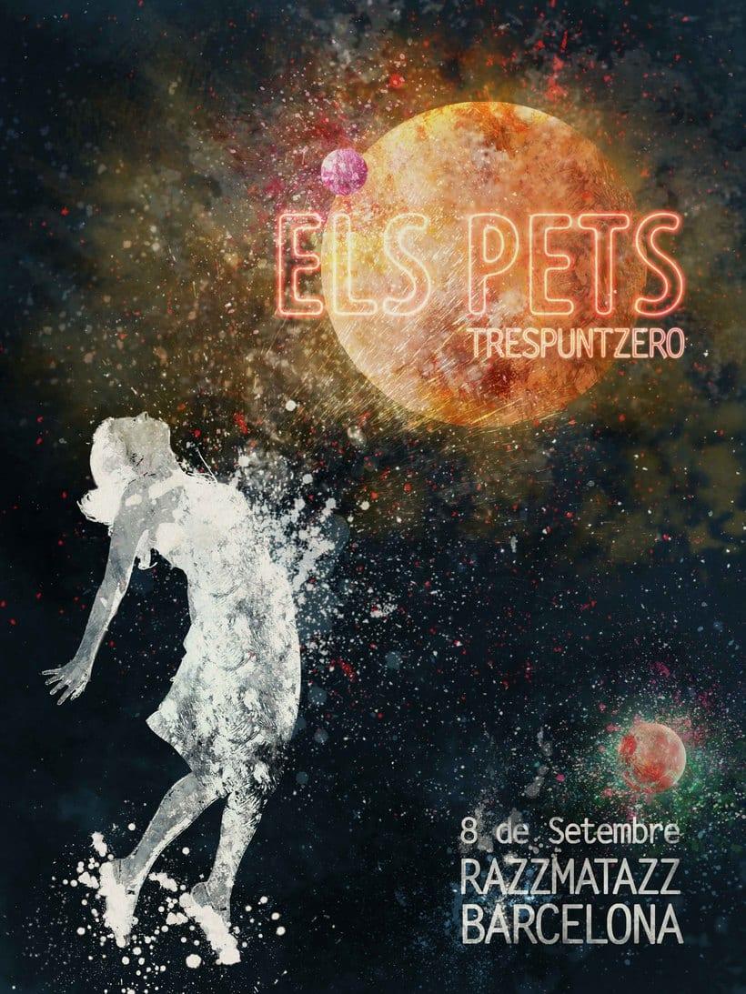 Mi Proyecto del curso Ilustración para music lovers: Els Pets 0