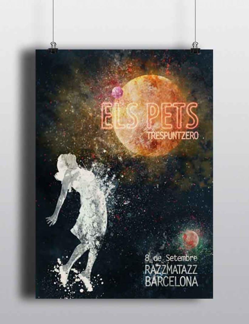 Mi Proyecto del curso Ilustración para music lovers: Els Pets 1