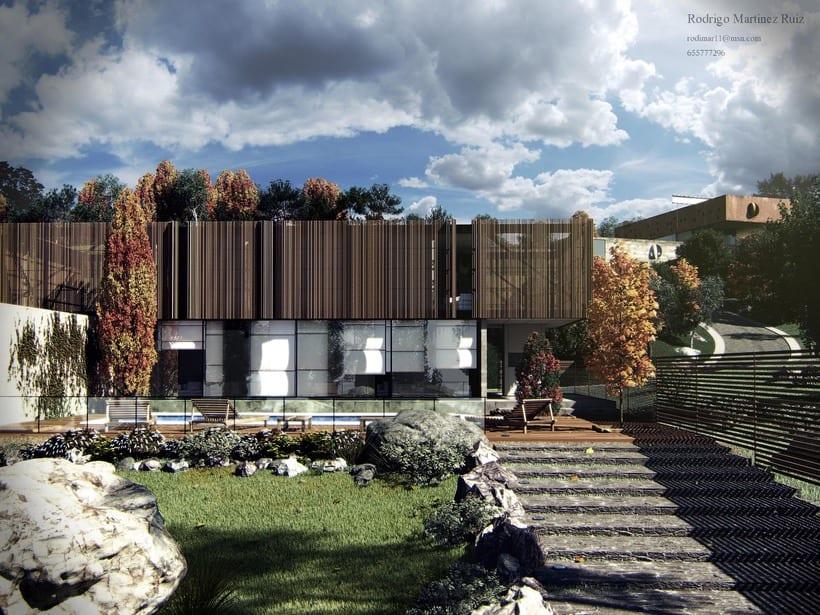 Xan House, render exterior  0