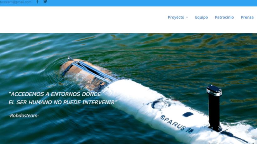 Diseño web Proyecto Sparus 0