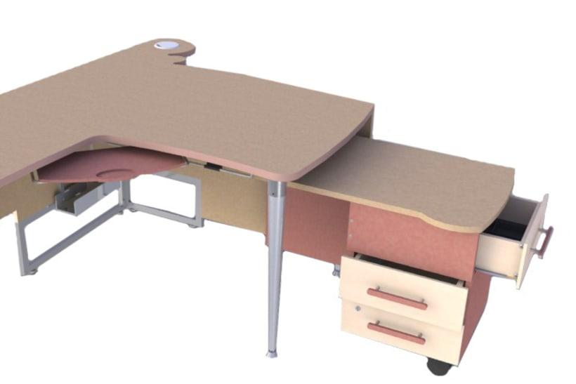 Diseño de mesa administrativa 1