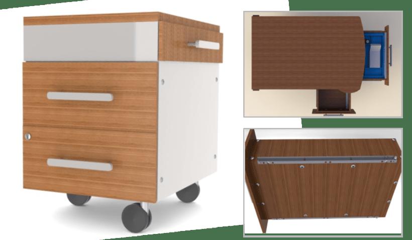 Diseño de mesa administrativa 2