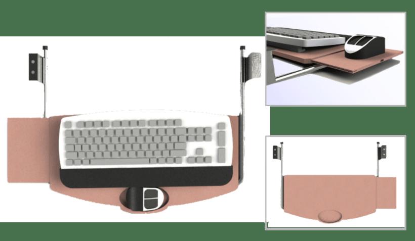 Diseño de mesa administrativa 3
