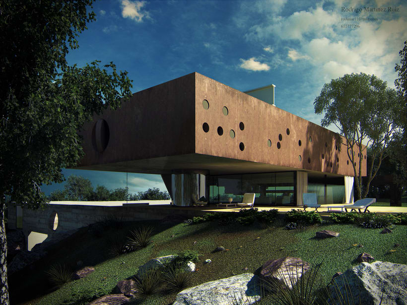 Burdeos House, render exterior 0