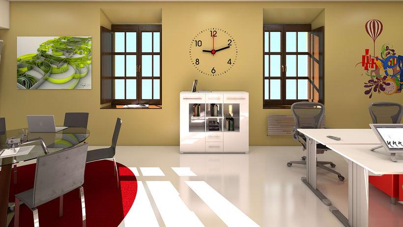 Estudio de diseño 3d interior 7