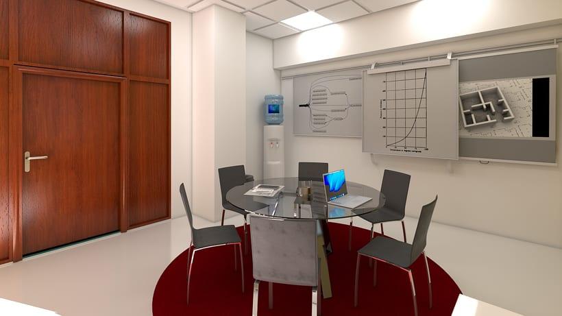 Estudio de diseño 3d interior 10