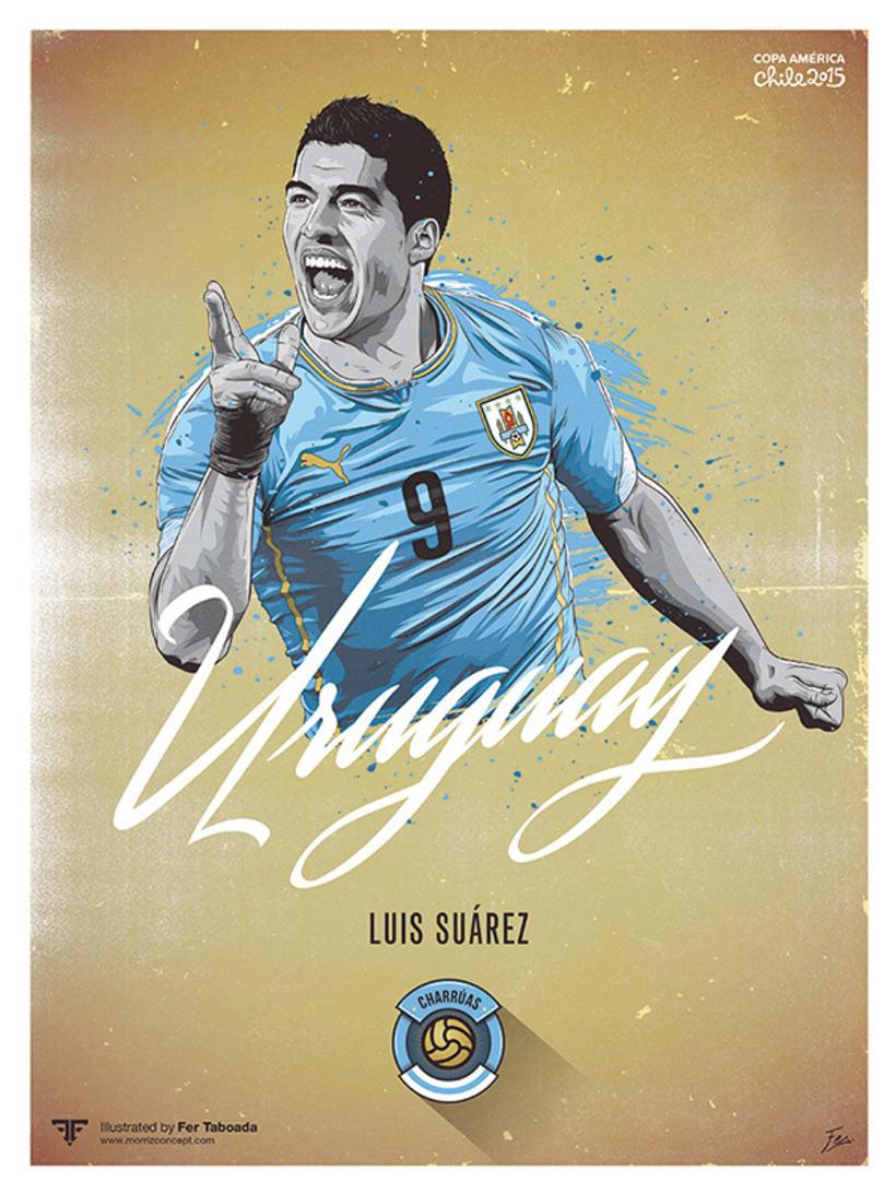 Cracks Copa América 15