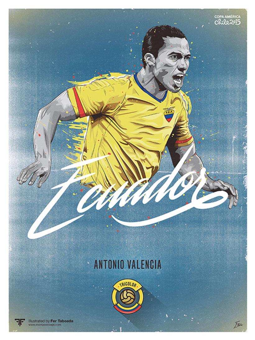 Cracks Copa América 27