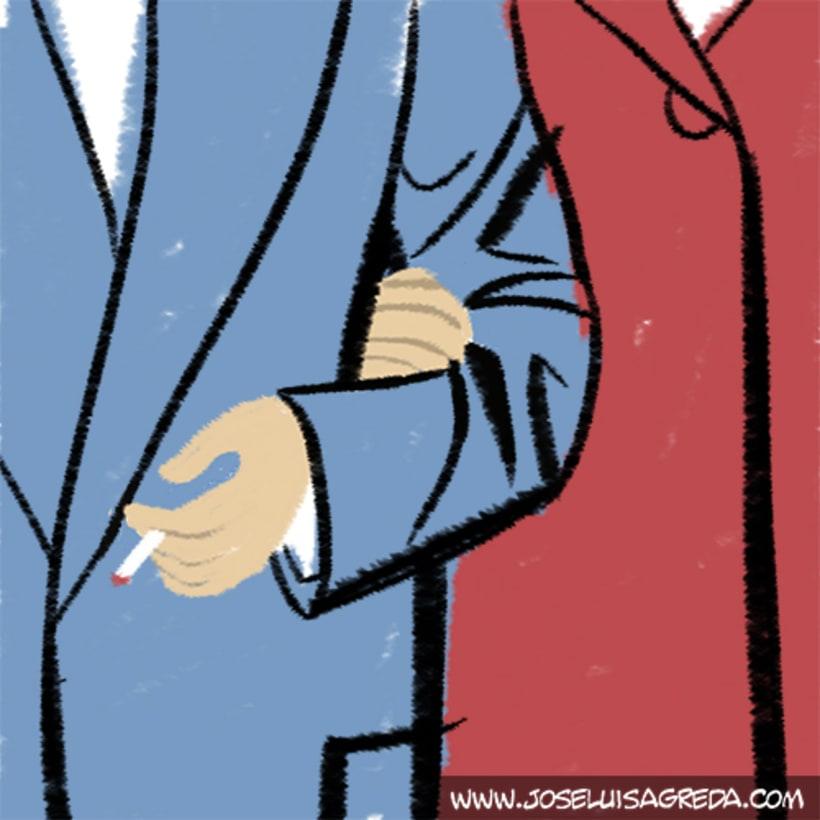 Ilustraciones en El País Semanal. 2