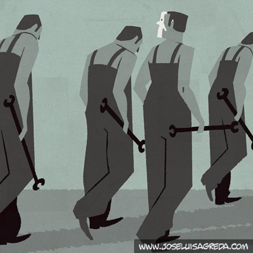 Ilustraciones en El País Semanal. 18