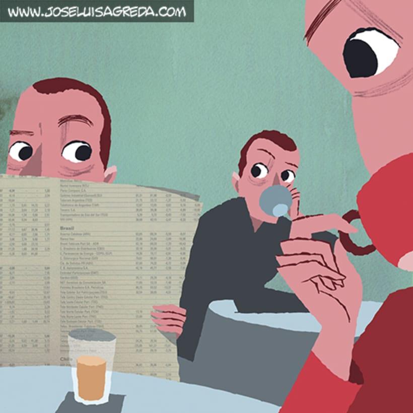 Ilustraciones en El País Semanal. 22