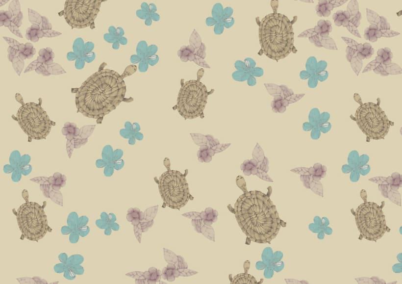 Pattern/ TORTUGAS 0