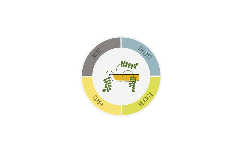 Logotipo, etiquetas y expositor para fertilizante 10