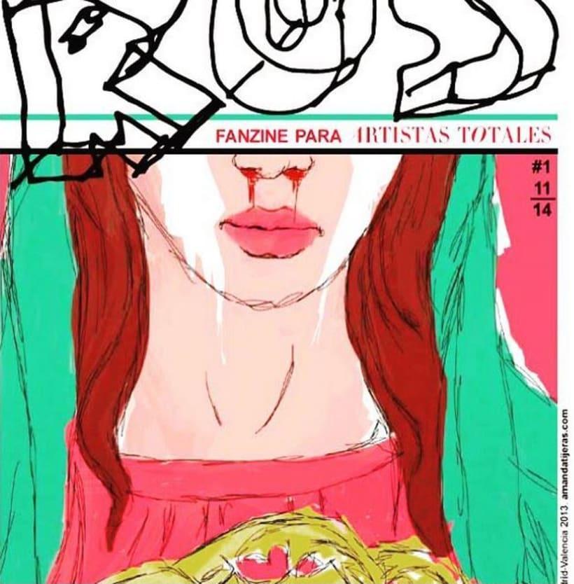 RUS Fanzine para Artistas Totales 8