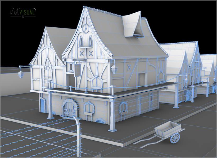 Casa. Entorno 3D 1