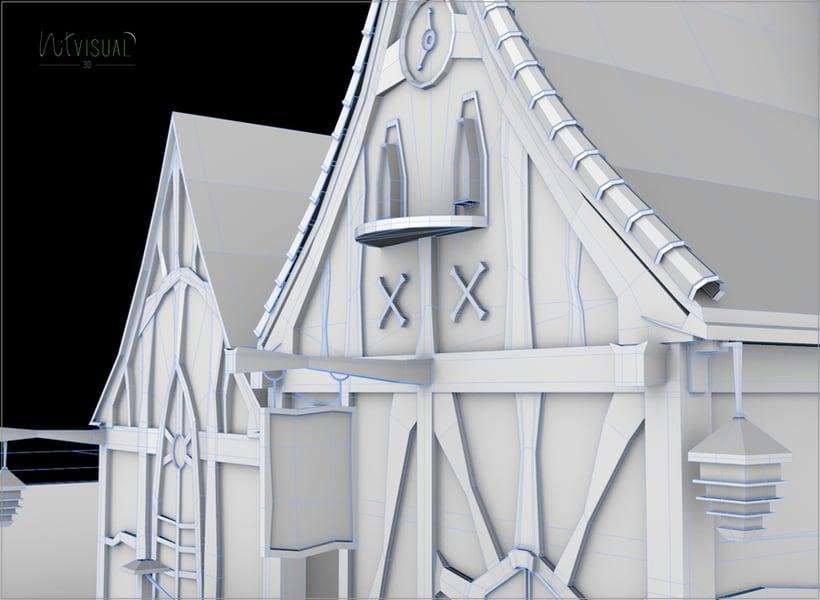 Casa. Entorno 3D 2